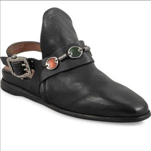 A.S. 98 Tara leather shoes mules